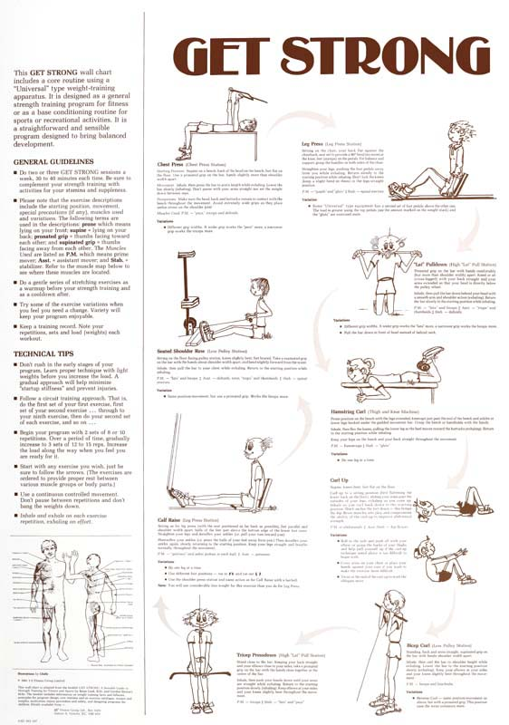 Get Strong Training Circuit Set 2