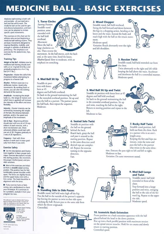 1000+ images about I work out: Medicine Ball on Pinterest ...